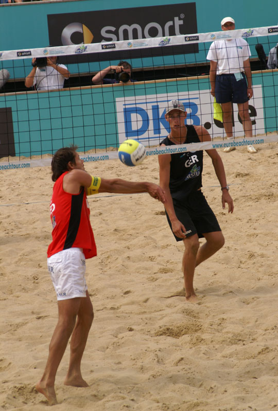 Beachvolleyball in Hamburg 2009