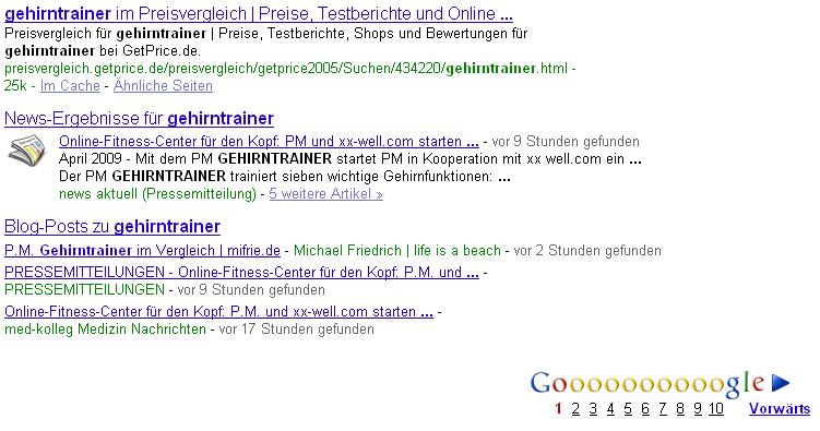 Google Blogsearch