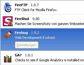 13 wichtige Firefox Plugins