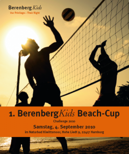 Berenberg Kids Beachvolleyball-Turnier