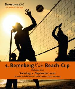 Berenberg Kids Beachvolleyball-Turnier