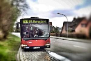 Linie 8890 von Escheburg nach Bergedorf