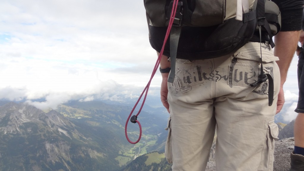 Quicksilver-Hose in den Alpen