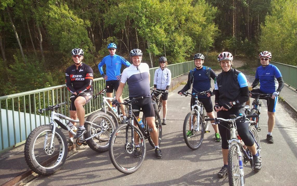 Wie Danny Macaskill: Mit dem Mountainbike am Geesthang