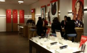 Vodafone-Shop Jungfernstieg Hamburg