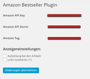Amazon Bestseller WordPress Plugin