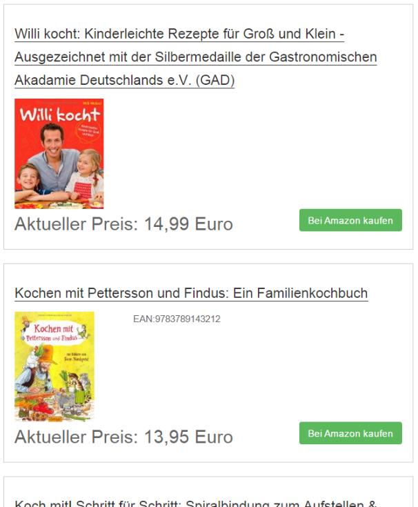 Ergebnis: Amazon Bestseller Plugin