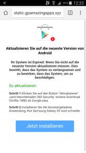 Screenshot von static.gpamazingapps.xyz